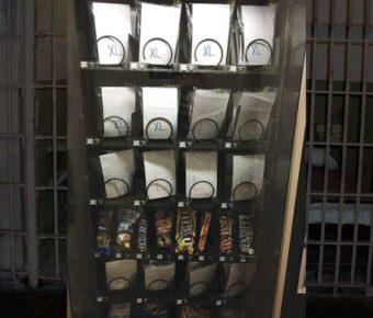 The Sussex County Jail stopped providing corrections staff with gloves, and moved them into a vending machine.