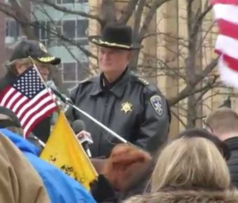 Erie County Democratic Chairman Jeremy Zellner is leading the demand to Sheriff Timothy Howard to resign after a few white supremacists showed up to a public event.