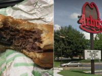 Birmingham Arby's served an officer a metal bolt in his sandwich.