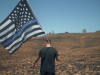 The latest music video from Papa Roach features an American Thin Blue Line flag.