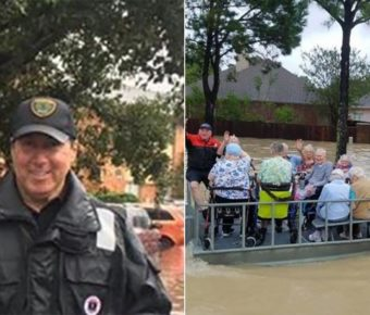 Houston Police Officer Norbert Ramon has been out saving lives despite his stage 4 cancer.