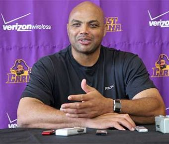 Charles Barkley isn't afraid of controversy as he attacks community problems head-on.