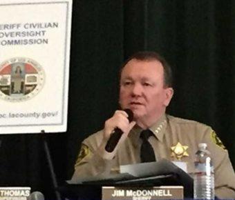 LA County Sheriff McDonnell blames California laws for role in hero's murder.