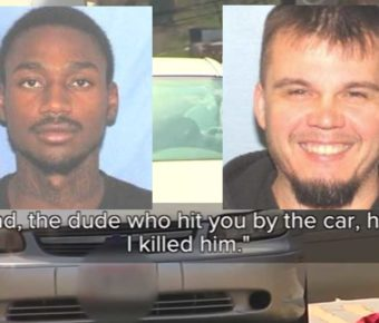 Deonte Baber (left) is wanted for the murder of Jamie Urton (right.)