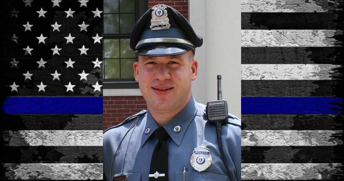Webster Police Officer Michael Lee EOW 10/07/2017.